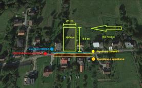 Prodej, stavební pozemek, 2000 m2, Albrechtice