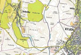 mapka (Prodej, orná půda, 929 m2, Sobůlky)