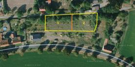 (Prodej, stavební parcela č. 2, 1261 m2, Bratkovice u Velvar), foto 3/21
