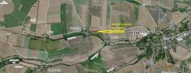Prodej, stavební parcela č. 2, 1261 m2, Bratkovice u Velvar