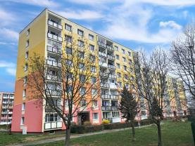 Pronájem, byt 1+1, 36 m2, DV, Chomutov, ul. Písečná