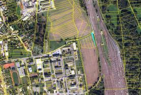 mapka (Prodej, orná půda, 519 m2, Olomouc-Klášterní Hradisko)
