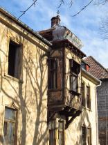 detail průčelí - arkýř s bání (Prodej, nájemní dům, 1252 m 2, Litoměřice, Rybáře), foto 3/37