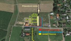 Prodej, stavební pozemek, 966 m2, Bravantice