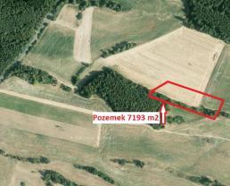 Prodej, pozemek, 7193 m2, Drevníky u Příbrami