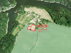 Prodej, stavební pozemek, 3903 m2, Varvažov, Zbonín
