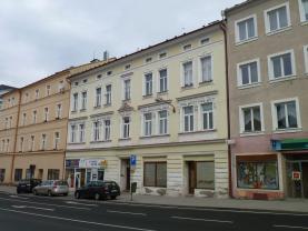 Prodej, nebytový prostor + byt, 316 m2, Cheb, ul. Svobody