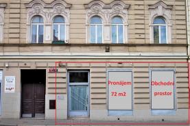 Pronájem, obchodní prostor 72 m2, Praha Nusle