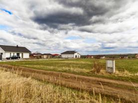 Prodej, stavební parcela, 1090 m2, Tuchoraz