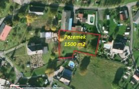 Prodej, pozemek, 1500 m2, Rychnov nad Kněžnou - Habrová