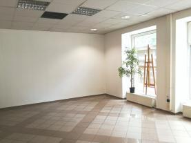 (Pronájem, komerční prostor, 124 m2, Ostrava, ul. Nádražní)
