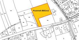 Prodej, provozní plocha 8001 m2, Lety u Dobřichovic