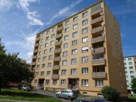 Pronájem, byt 1+1, 35 m2, Cheb, ul. Lomená