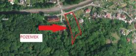 Mapa (Prodej, stavební parcela, 2922 m2, Ústí nad Labem - Olšinky), foto 4/14