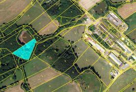 Prodej, louka a vodní plocha, 3789 m2, Dolní Brusnice