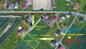 Prodej, stavební pozemek, 1004 m2, Rychvald, ul. Hraniční