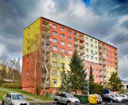 Prodej, byt 2+1, 63 m2, DV, Chomutov, ul. Borová