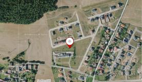 Prodej, stavební pozemek, 806 m2, Králův Dvůr - Křižatka
