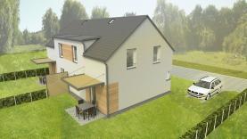 Prodej, novostavba, rodinný dům 4+kk, Mělník - Chloumek