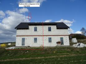(Prodej, novostavba, rodinný dům 4+kk, Mělník - Chloumek), foto 4/23
