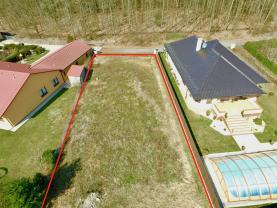 Prodej, stavební parcela, 730 m2, Tábor, Dolní Horky