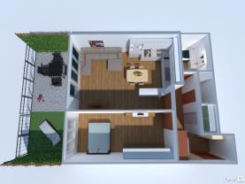(Prodej, byt 2+kk, 68 m2, Praha 9 - Čakovice, zahrada 26 m2), foto 3/23