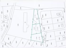Prodej, stavební pozemek, 908 m2, Králův Dvůr - Křižatka