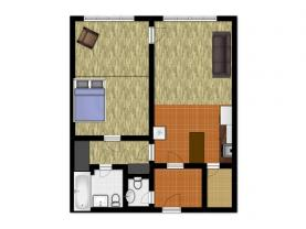 (Prodej, byt 2+kk, 70 m2, OV, Praha 6, ul. Lužná), foto 4/26