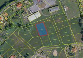 Prodej, stavební pozemek 1387 m2, Hazlov