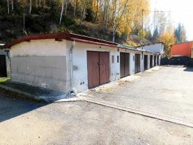 Pronájem, garáž, 25 m2, Kraslice, ul. Čs. armády