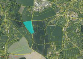Ortofoto mapa (Prodej, louka, Železný Brod), foto 3/8