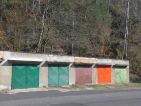 pohled na garáže (Prodej, garáž, 25 m2, Děčín, ul. Saská), foto 3/3