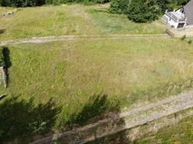 Pohled na pozemek (Prodej, stavební parcela, 2105 m2, Huť, Pěnčín), foto 2/8
