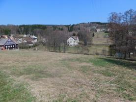 Pohled na pozemek (Prodej, stavební parcela, 2105 m2, Huť, Pěnčín), foto 3/8