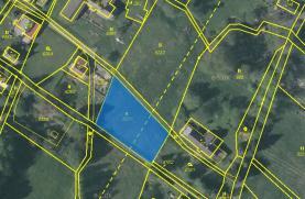 Prodej, stavební parcela, Huť, Pěnčín