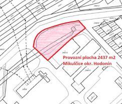 Prodej, provozní plocha, objekt, 2437 m2, Mikulčice