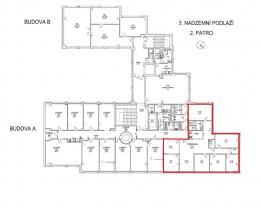 (Pronájem, kancelářské prostory, 146 m2, Praha 4 - Michle), foto 3/10