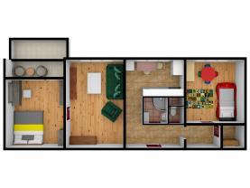 (Prodej, byt 3+1, 76 m2, Kladno, ul. Maďarská), foto 3/20