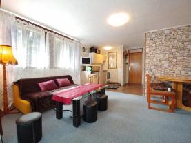 Obývací pokoj s kuchyní (Prodej, chata, 75 m2, Lipová - Seč), foto 3/18