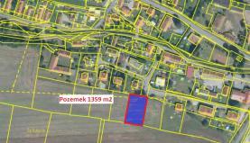 Prodej, stavební pozemek, 1359 m2, Drevníky u Nečína (Prodej, pozemek, 1359 m2, Drevníky u Nečína), foto 2/7
