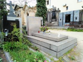 Prodej, rodinná hrobka 6 m2, Praha 5, Malvazinecký hřbitov