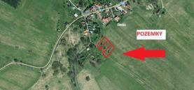 Prodej, stavební pozemek, 1 132 m2, Tisá