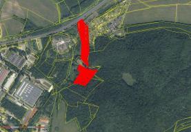 Umístění na mapě (Prodej, pole, 18228 m2, Klášterec nad Ohří, ul. Osvobozená), foto 2/4