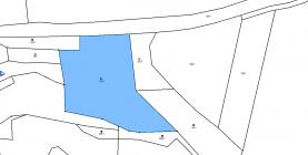 katastrální mapa (Prodej, pozemek, 7221 m2, Řehlovice - Brozánky), foto 3/5