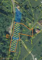 mapa (Prodej, stavební pozemek, 1490 m2, Liberec - Vratislavice), foto 4/7