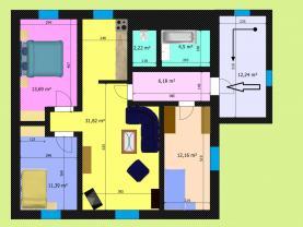 (Prodej, byt 4+kk, 104 m2, Kolín, ul. Morávkova), foto 4/14