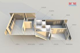 Pudorys (Flat 3+1, 81 m2, Chomutov, Březenecká)