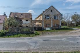 Prodej, zemědělská usedlost 4+2, 180 m2, Hranice u Slavošova