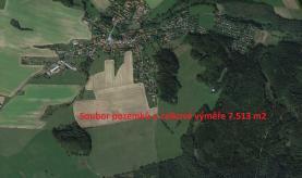 Field, 7513 m2, Praha-východ, Zvánovice
