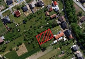 Prodej, stavební pozemek, 1022 m2, Bělkovice - Lašťany